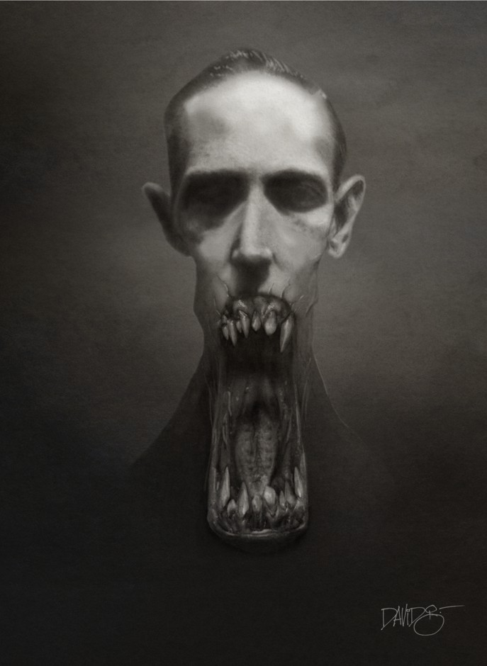H.P. Lovecraft by Disezno on DeviantArt